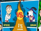 Hra - American Dad vs Family Guy