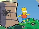 Hra - Bart Boarding