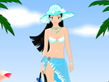 Hra - Beach Fashion Dress up