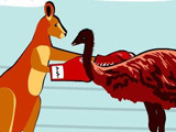 Hra - Big Red Roos Boxing