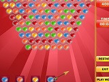 Hra - Bubble Shooter Valentine