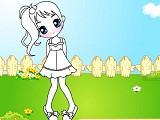 Hra - Dívka na zahradě