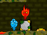 Hra - Fireboy and Watergirl 3 Forest Temple