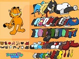 Hra - Garfield Dress Up