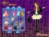Hra - Hannah Montana  - oblékání