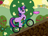 Hra - Little Pony Bike Racing