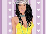 Hra - Megan Fox Dress Up Game