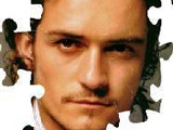 Hra - Orlando Bloom Puzzle