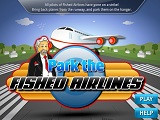 Hra - Park the Fished Airlines