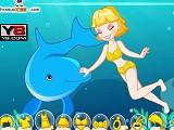 Hra - Plavání s delfíny