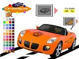 Hra - Pontiac Soltice Coloring