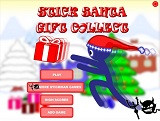 Hra - Stick Santa Gift Collect