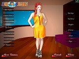 Hra - Yellow Girl Dress Up